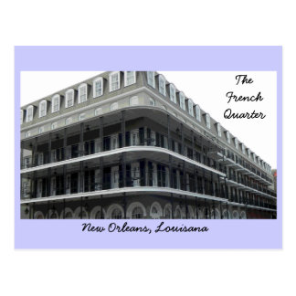 The French Quarter Postcard