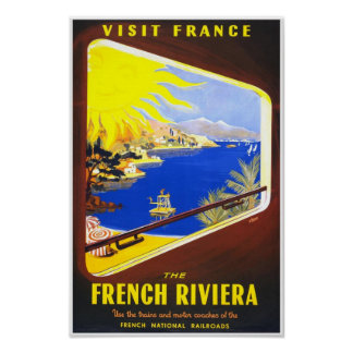 The French Riviera Poster