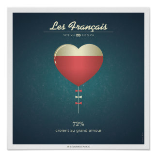 The French who believe in the great love Poster