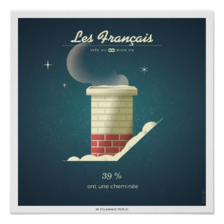 The French who have a chimney Poster