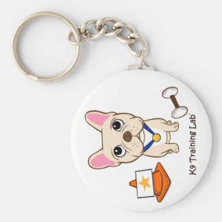 The Frenchie (Rally/Obedience): Key Chain
