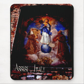 The Frescoes of Assisi Italy gifts Mouse Pad