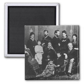 The Freud Family, c.1876 Magnet