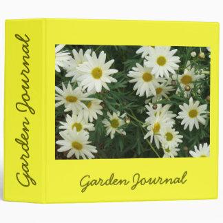 """The Friendliest Flower Garden Journal - Avery 2"""" Binders"""
