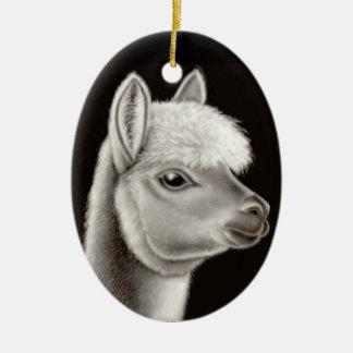 The Friendly Alpaca Ornament