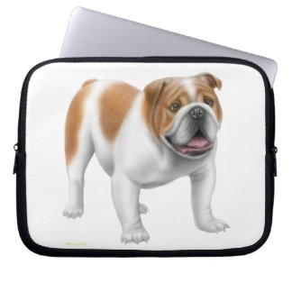 The Friendly English Bulldog Electronics Bag Laptop Sleeves