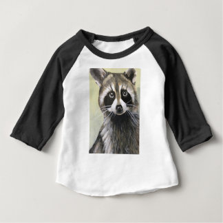 The Friendly Raccoon Baby T-Shirt