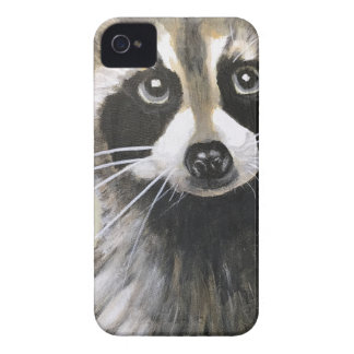 The Friendly Raccoon iPhone 4 Cover