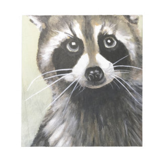 The Friendly Raccoon Notepad
