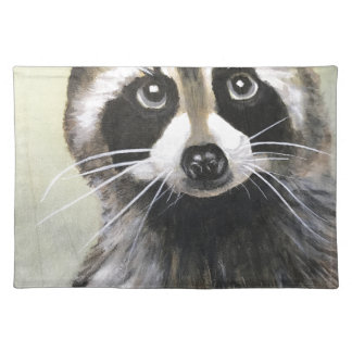 The Friendly Raccoon Placemat