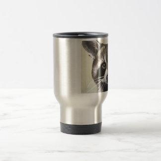 The Friendly Raccoon Travel Mug