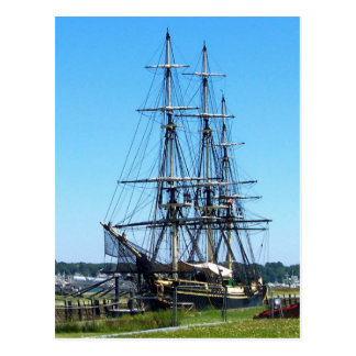 The Friendship of Salem, MA Postcard