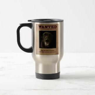 The Frisky Flattie Travel Mug