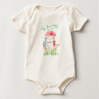 """ The Frog Dance"" Baby Organic Bodysuit"
