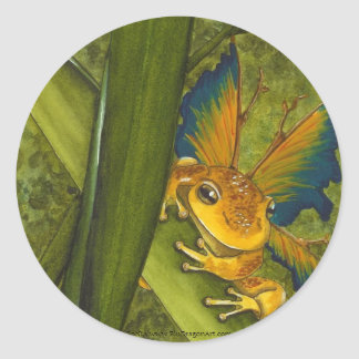 The Frog Faery Sticker