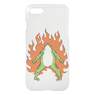 The frog iPhone 7 case which burns