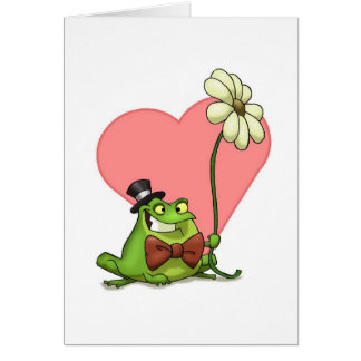 The Frog of Love (Card) Card