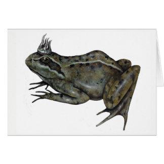 The Frog Prince. Card