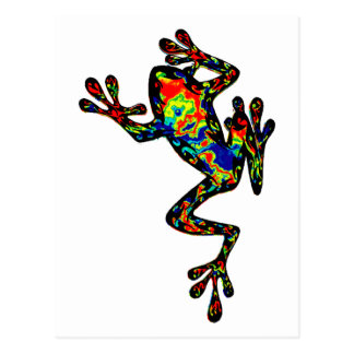 the FROG state Postcard