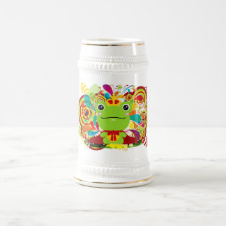 The frog which did not fit a prince beer stein