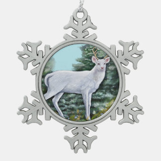 The Frost Hart Pewter Snowflake Ornament