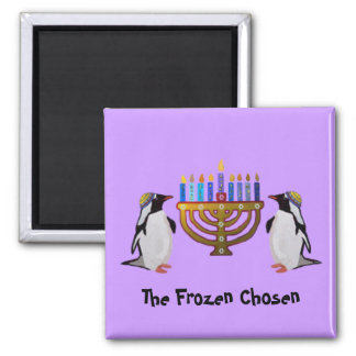 The Frozen Chosen Hannukah Magnets