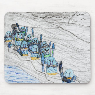 """The Frozen March"" Mouse Pad"