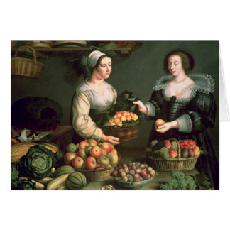 The Fruit and Vegetable Seller Card
