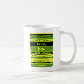 The Fruit of the Spirit is Love Coffee Mug