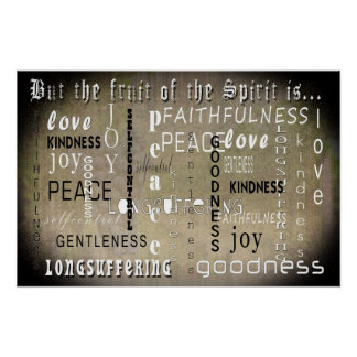 The Fruit of the Spirit Poster