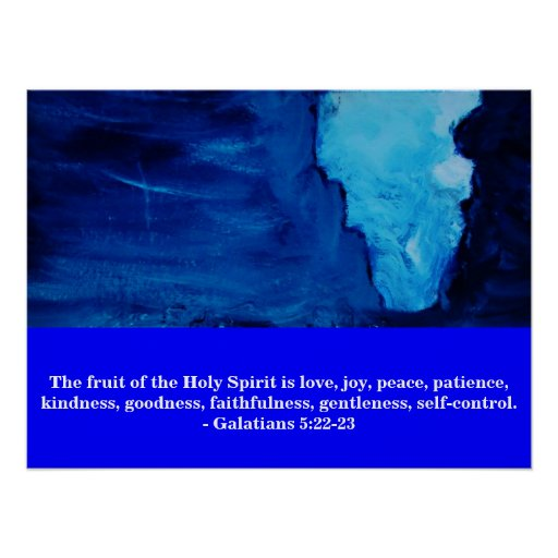 THE FRUIT OF THE SPIRIT PRINT
