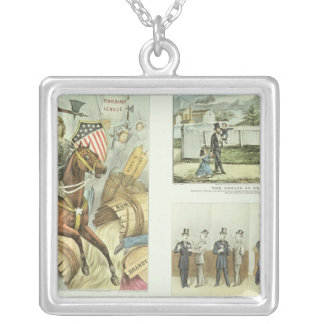 The Fruits of Temperance Silver Plated Necklace