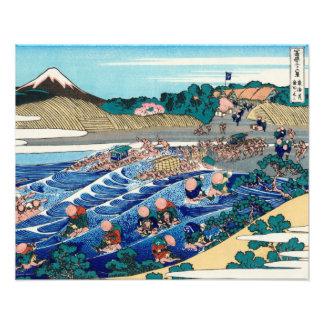The Fuji seen from Kanaya on the Tokaido Photo Art