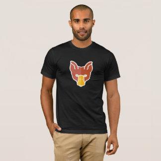 The Full Face DuckFox on Dark T-Shirt
