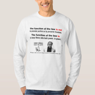 The Function of the Law is and is Not... T-Shirt