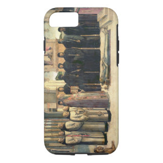 The Funeral of St. Jerome, c.1470-1472 (oil on can iPhone 7 Case