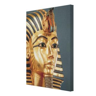 The funerary mask of Tutankhamun Canvas Print