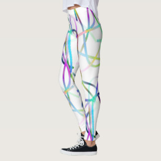 The Funky Line Of Colours Leggings