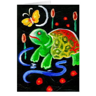 The Funky Turtle Card