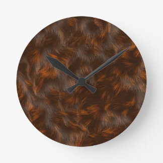 The fur collection - Calico Fur Clock