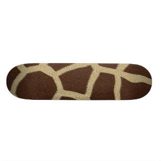 The fur collection - Giraffe Fur Skate Board
