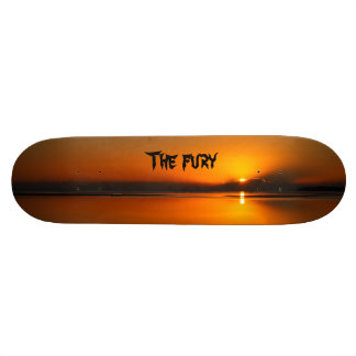 The fury skateboard deck