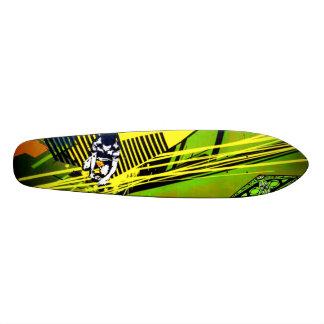 The Fuse Is Lit - Graffiti Sk8 Art Skateboard