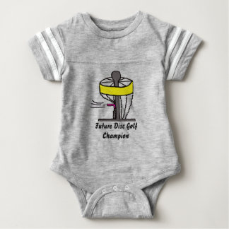 The Future Disc Golf champion baby onsie Baby Bodysuit