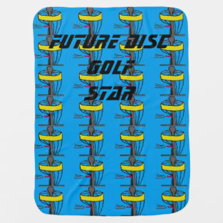 The Future Disc Golf Star baby blanket