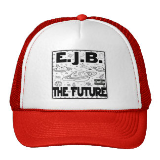 The Future Hat- RED Trucker Hat