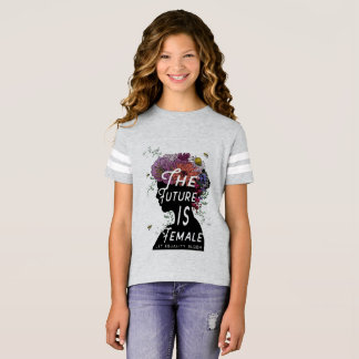 The Future Is Female - Football T-shirt youth