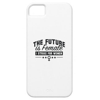 The Future Is Female iPhone 5 Cover