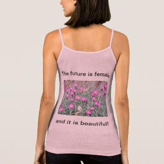 The future is female Ladies Tank Top