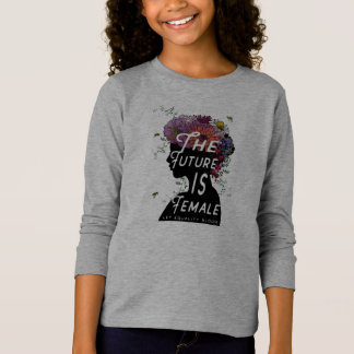 The Future Is Female - Long sleeve T-shirt youth